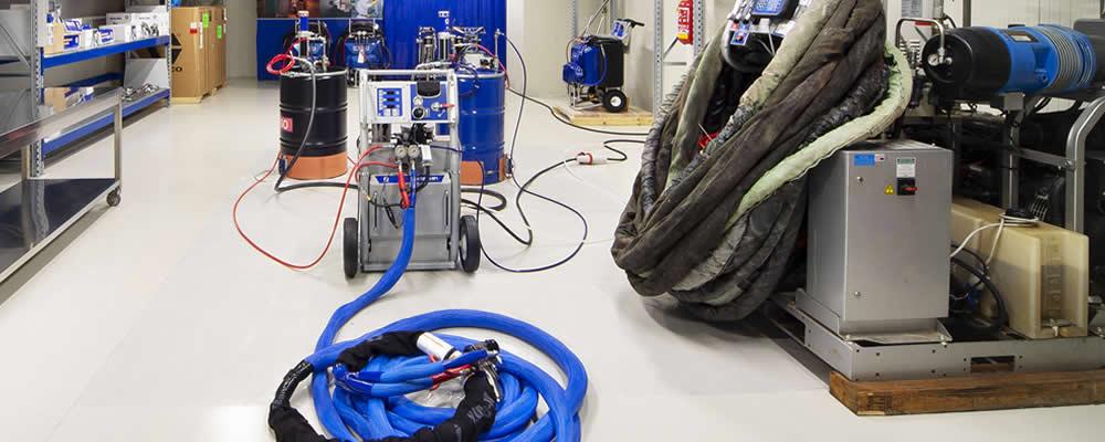 Macchine per schiume poliuretaniche